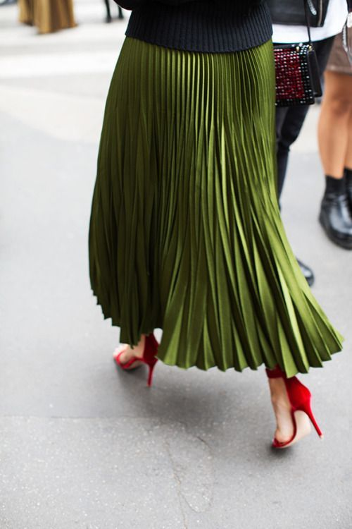 Pleated Skirts for Fall - Say YesSay Yes