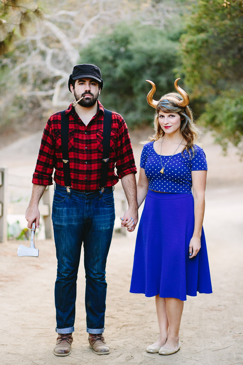 diy paul bunyon and the blue ox costume