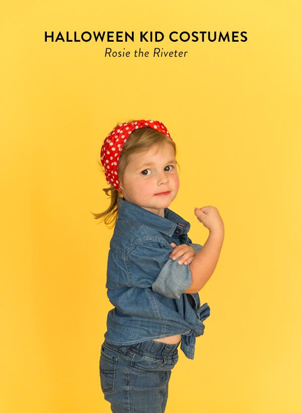 Rosie the Riveter costume
