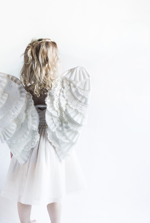 diy anglel wings