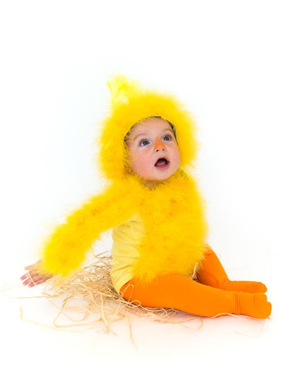 baby chick halloween costume