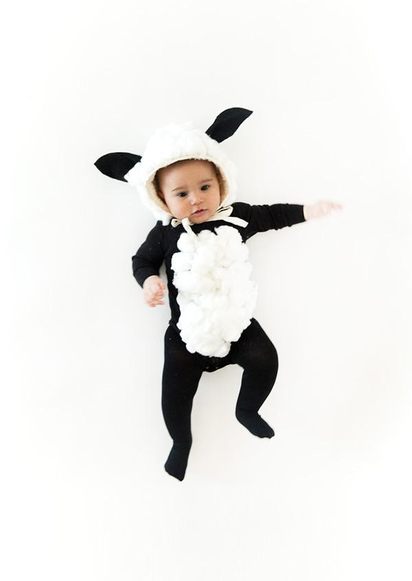 sheep baby costume
