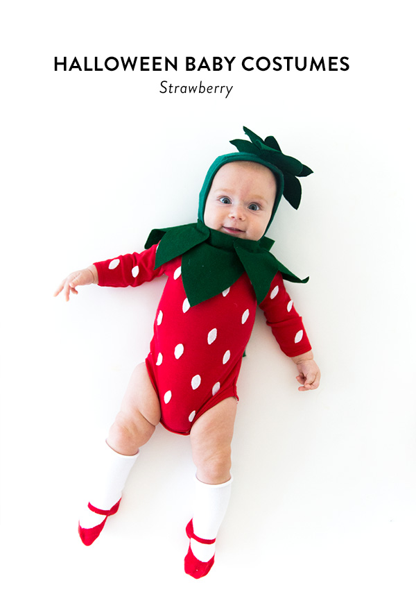 strawberry halloween baby costume
