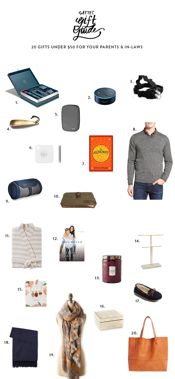 parent gift guide