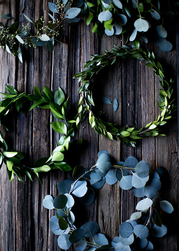 mini natural wreaths