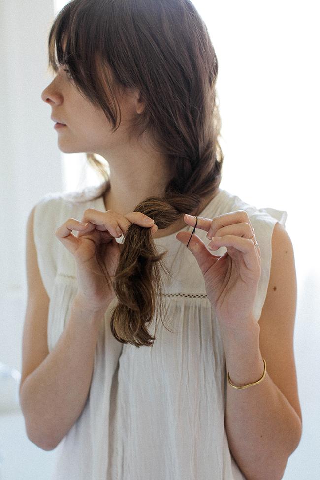 braid with bangs
