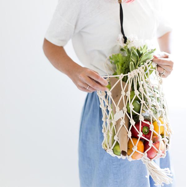 Making a Net Produce Bag