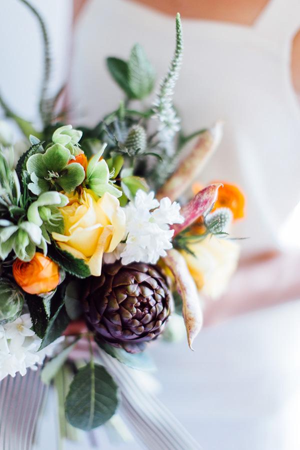 veggie bridal bouquet