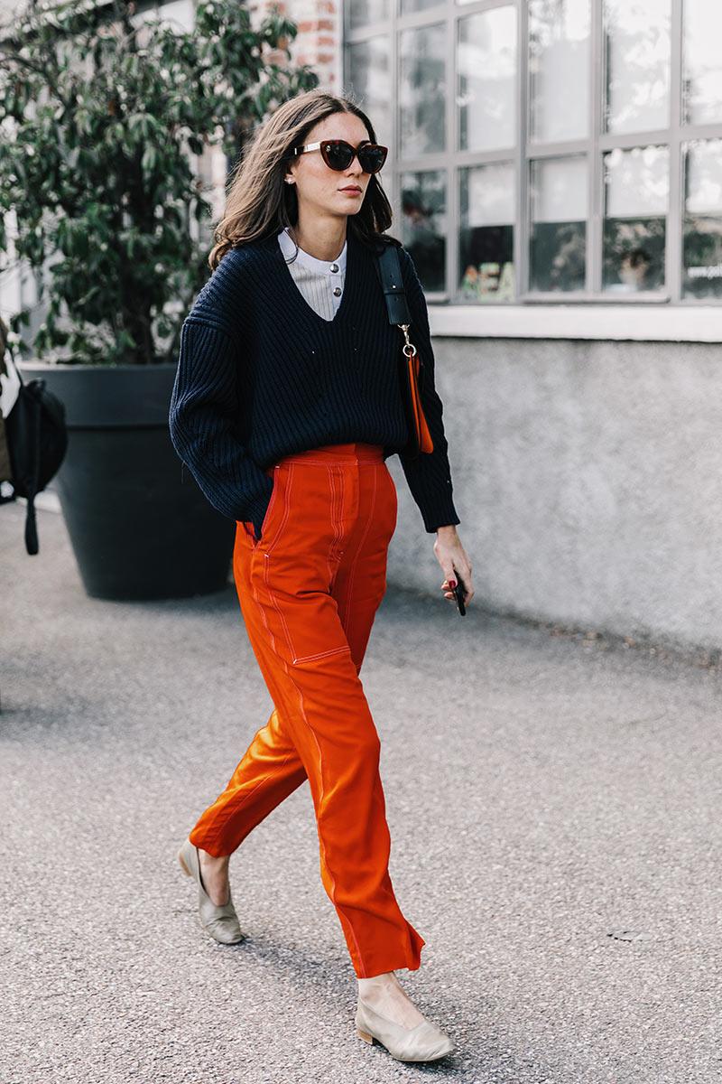 orange for fall