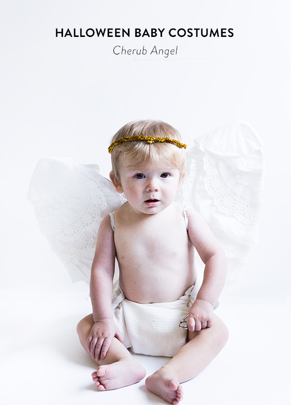 angel baby costume