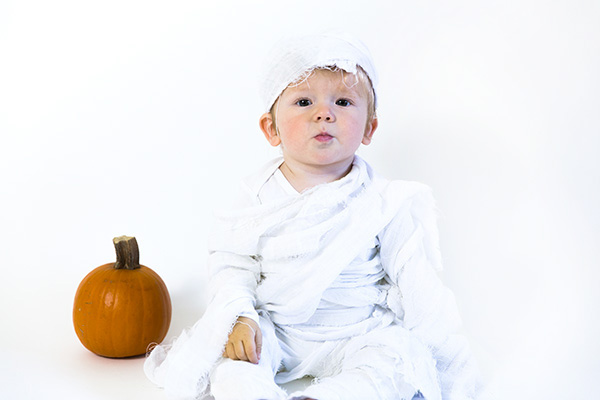 baby mummy costume
