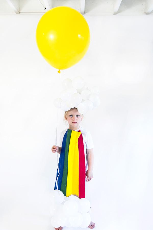 rainbow raincloud costume