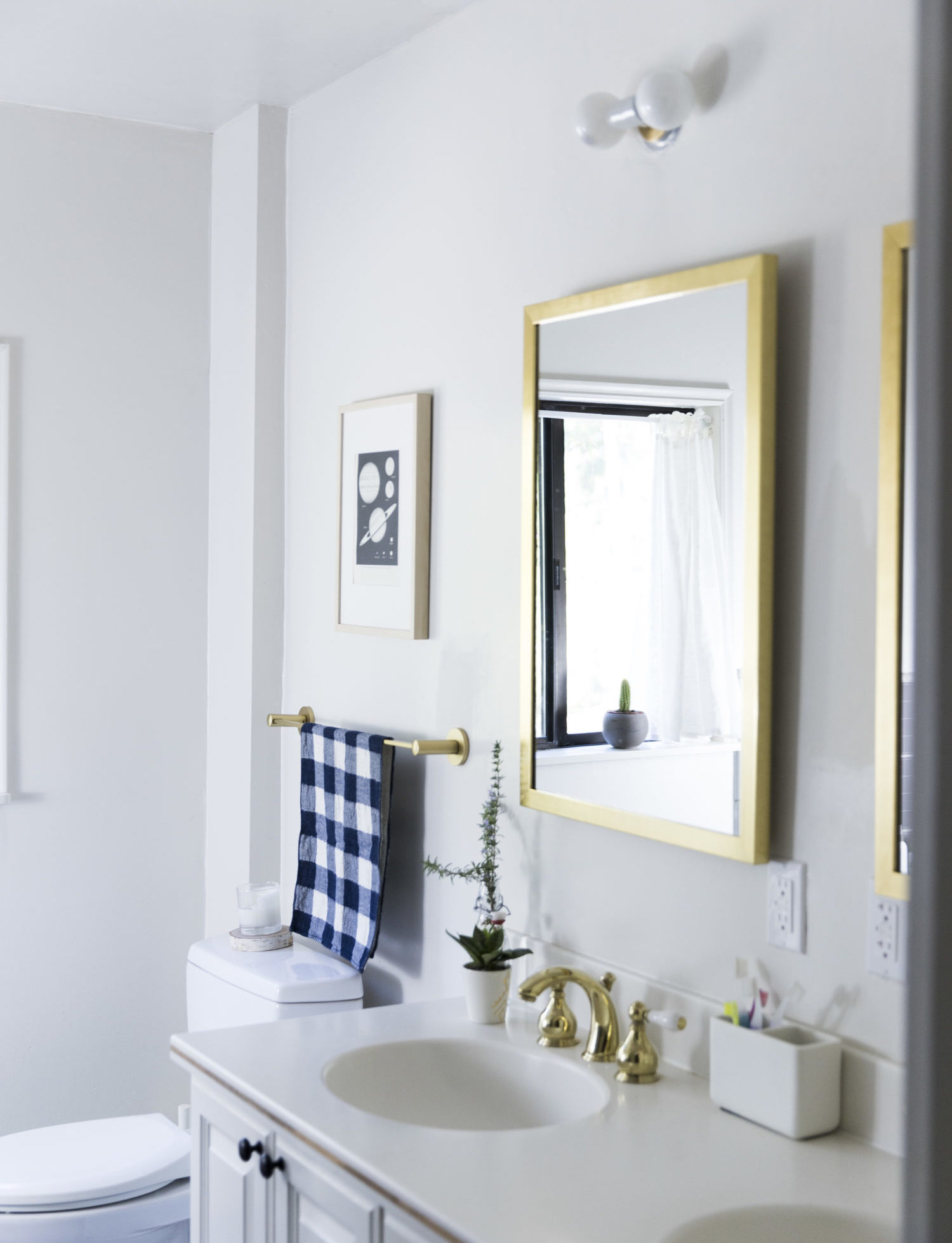 A Bathroom Update - Say Yes